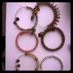 Alex and ani beaded bracelet lot